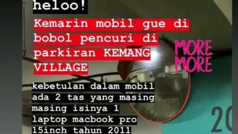 Polsek Mampang Selidiki Kasus Mobil Bonita Dibobol di Kemang Village