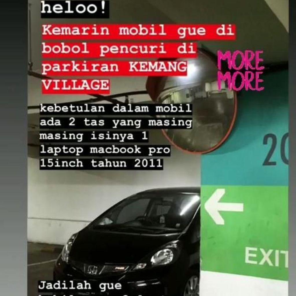 Mobil Dibobol di Parkiran Mal, ke Mana Harus Melapor?