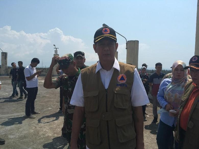 BNPB Minta Shelter Tsunami di Pandeglang yang Dikorupsi Bisa Dipakai