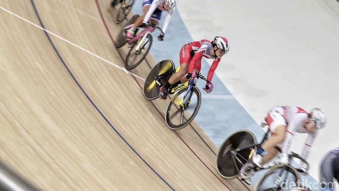 Balap sepeda Indonesia kantongi tiga tiket ke Piala Dunia Trek 2019. Foto: Pradita Utama