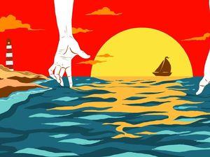Pada Hari Ketika Bersamamu Melukis di Atas Air