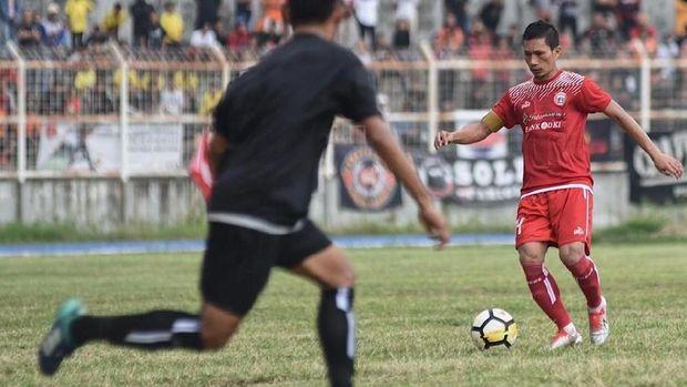 Persija Jakarta menang 1-0 di laga amal Pray For Lampung.
