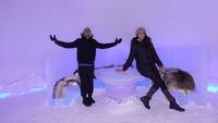 Mereka juga makan malam dalam es! (dimsanggara/Instagram)