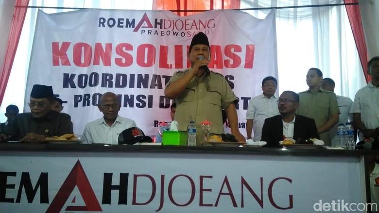 Prabowo: Kalau Mau Ganti Presiden, 17 April Kita Harus Menang