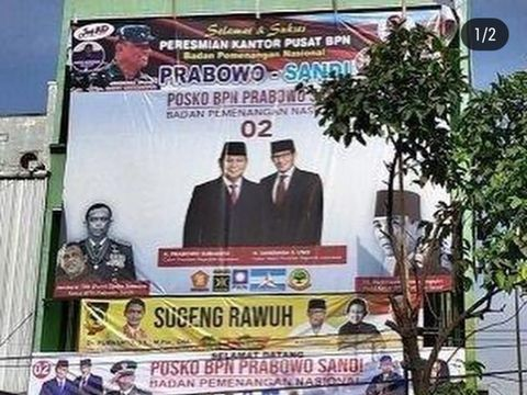 Dulu Protes Soal Baliho, Gatot Nurmantyo Kini Pro-Prabowo