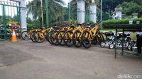 Menjajal Sepeda Gratis di Monas usai Diluncurkan 6 Bulan Lalu