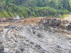 Cuaca Buruk, Proyek Jalan Trans Papua Rusak Berat