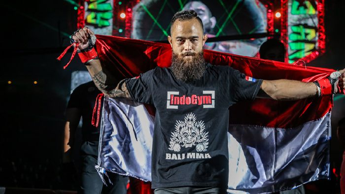 Petarung blasteran Belanda-Indonesia, Anthony Engelen, siap hibur publik Jakarta (dok.ONE Championship)