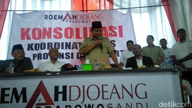 Prabowo: Kalian yang di Jakarta Lihat, Apa Bangsa Sudah Sejahtera?