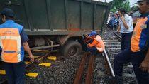 Truk Anjlok di Citayam Dievakuasi, Perjalanan KRL Bogor Berangsur Normal