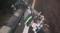 Kendaraan Penyapu Jalan dan Motor Terlibat Kecelakaan di Jakbar