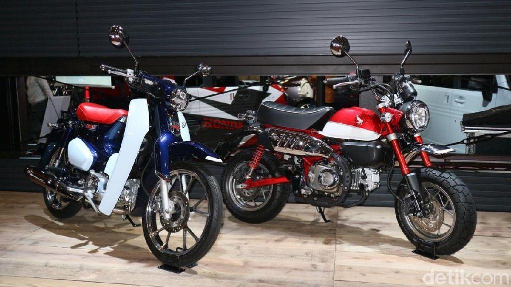 Motor Bebek Termahal di Indonesia Mejeng di Jepang