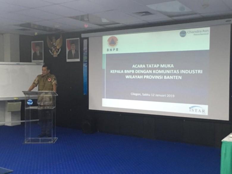 BNPB: Informasi Soal Bencana Akan Disampaikan Secara Terintegrasi