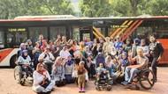 Kenalkan Aksesibilitas Sikap, Penyandang Disabilitas Kunjungi Museum Keramik