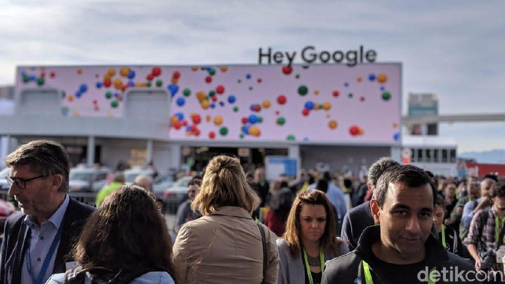 Melihat Keseruan Markas Google di CES 2019