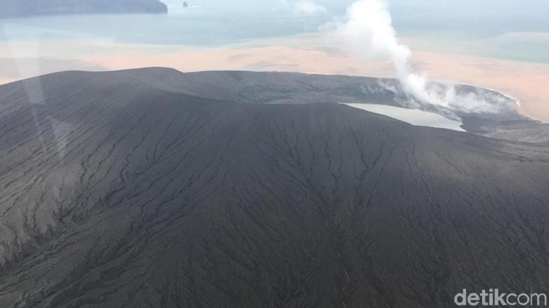 Sudah Tak Meletus 3 Hari, Gunung Anak Krakatau Masih Siaga