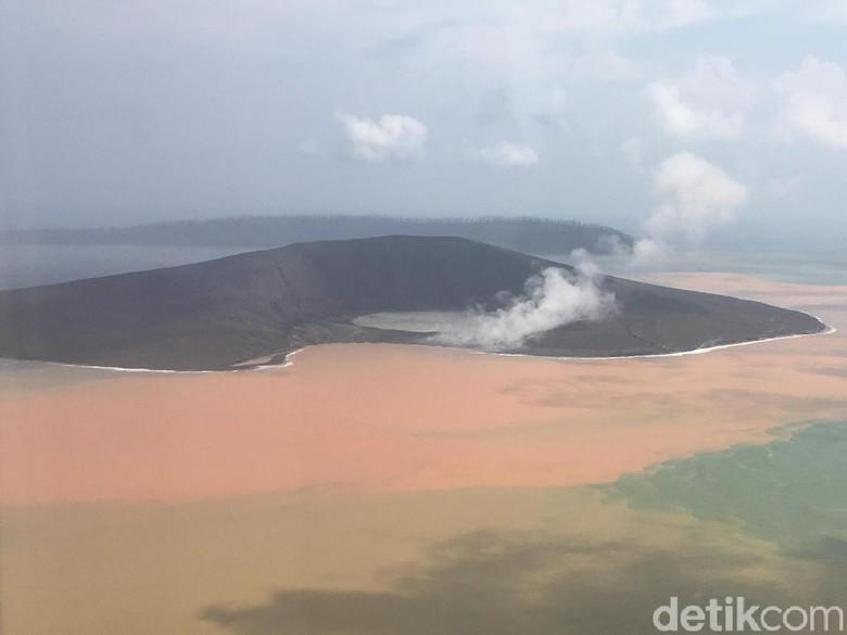 Gunung Anak Krakatau Erupsi, Terdeteksi Picu 16 Kali Gempa