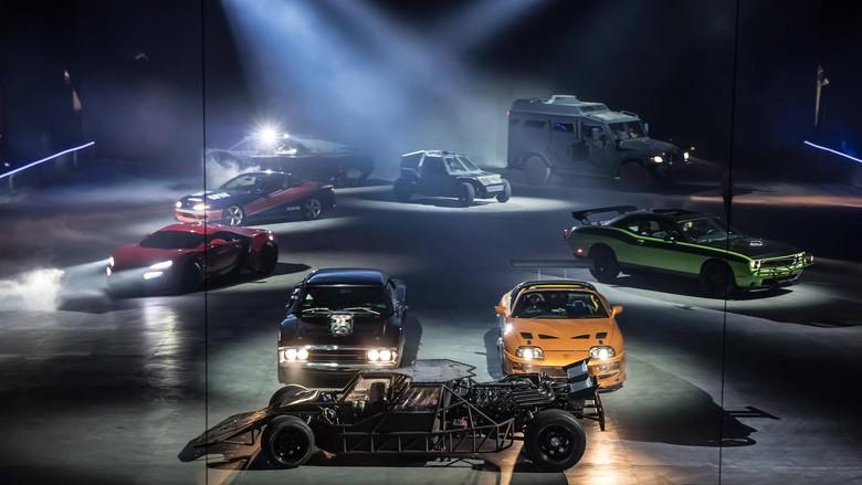 Mobil Fast & Furious Dilelang. Foto: Motor1
