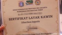 Duh! Banyak Netizen Belum Tahu Nikah di DKI Butuh Sertifikat Layak Kawin