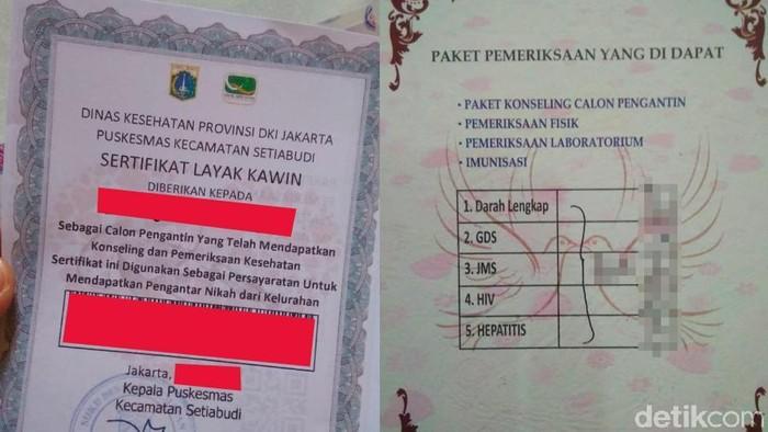 Sertifikat layak kawin juga mensyaratkan tes HIV untuk calon pengantin (Foto: detikHealth)