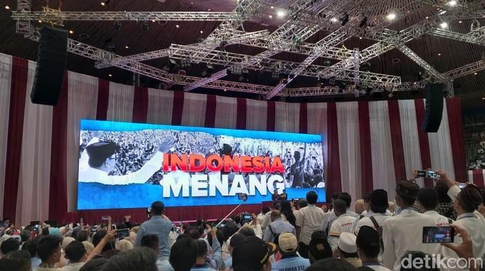 Pidato Prabowo Subianto (Marlinda/detikcom)