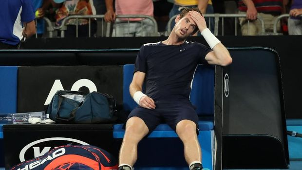 Murray takluk dari petenis Spanyol, Roberto Bautista.