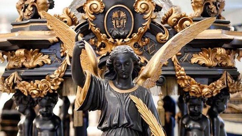 Inilah Museu de Carrosses Fúnebres atau Museum Kereta Pemakaman di Pemakaman Montjuic, Carrer de la Mare de Déu de Port, Barcelona, Spanyol (Cementiris de Barcelona/Facebook)