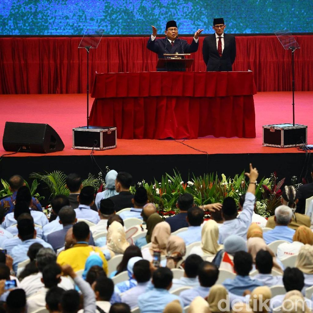 Tim Prabowo Pertanyakan Anggaran Penyampaian Visi Misi Jokowi di TV
