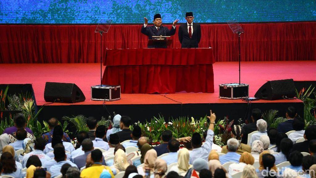 Kata Prabowo Cadangan Beras Hanya Bisa Tahan 3 Minggu