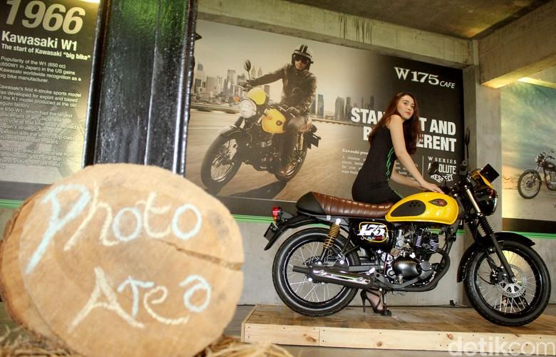 Kawasaki W175 Cafe. Foto: Rifkianto Nugroho