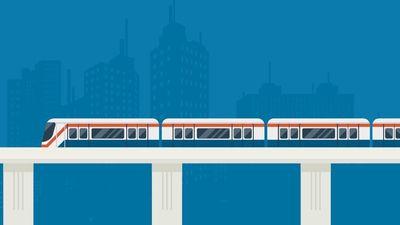 LRT Jabodebek Sudah Separuh Jadi
