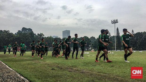 Para pemain menikmati persaingan di Timnas Indonesia U-22.