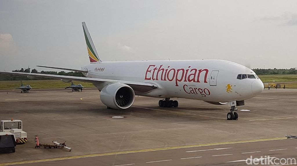 Pesawat Ethiopia yang Dipaksa Turun TNI Sudah Tinggalkan Batam