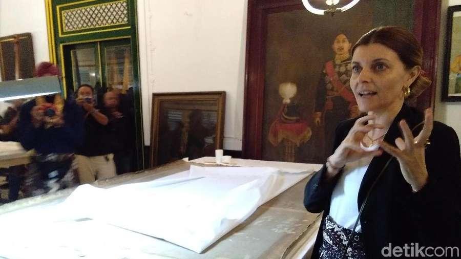 Keraton Yogya Restorasi Lukisan Karya Raden Saleh