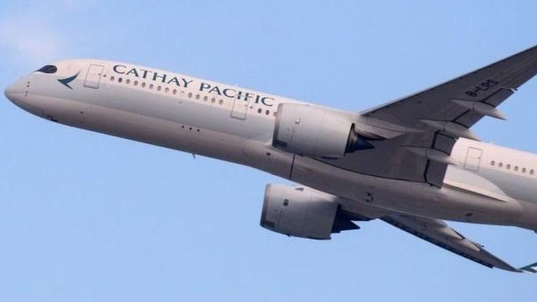 Ilustrasi maskapai Cathay Pacific (BBC Magazine)