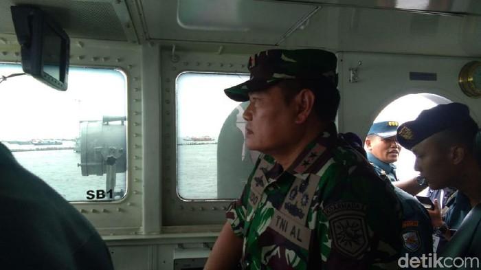 Pangkoarmada I TNI Yudo Margono/Foto: Lisye Sri Rahayu/detikcom