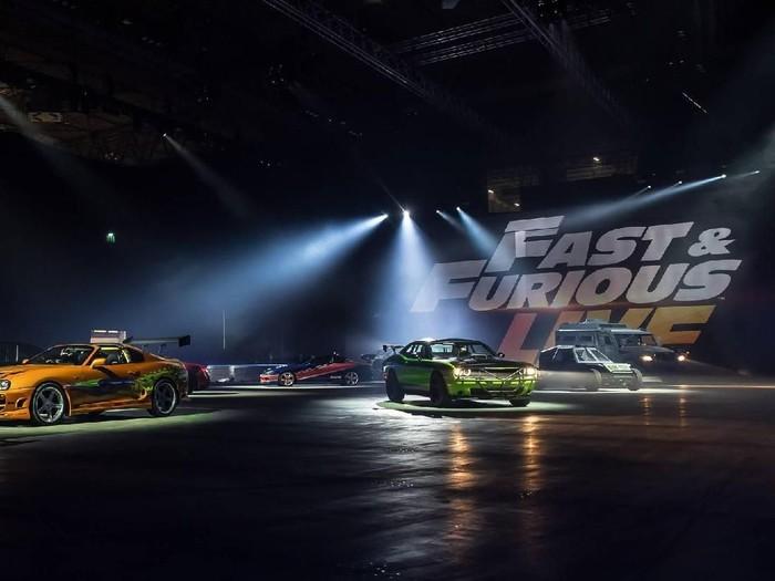 Mobil Fast & Furious Dilelang