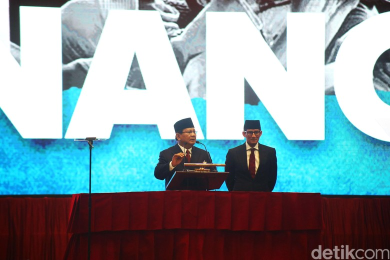 Ini Naskah Pidato Kebangsaan Prabowo: Indonesia Menang