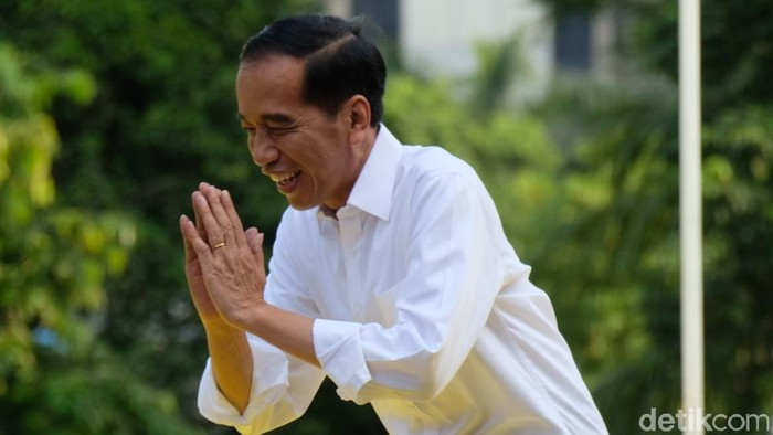 Capres Jokowi. (Foto: Andhika Prasetia/detikcom)