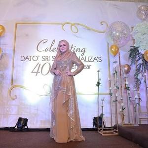 Serba Emas, Mewahnya Pesta Ulang Tahun Ke-40 Siti Nurhaliza