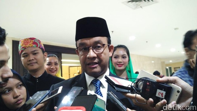 Foto: Gubernur DKI Jakarta Anies Baswedan. (Fida/detikcom).