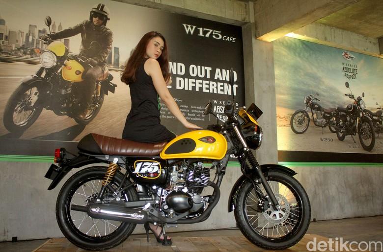 Kawasaki W175 Foto: Rifkianto Nugroho