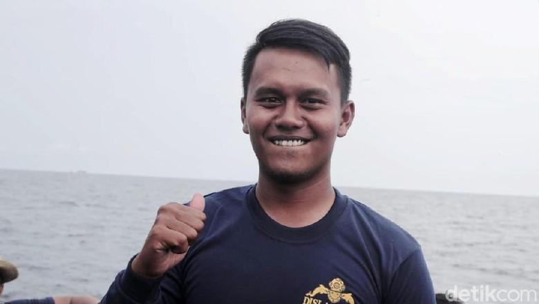 Ini Serda Satria, Penyelam yang Angkat CVR Lion Air dari Dasar Laut