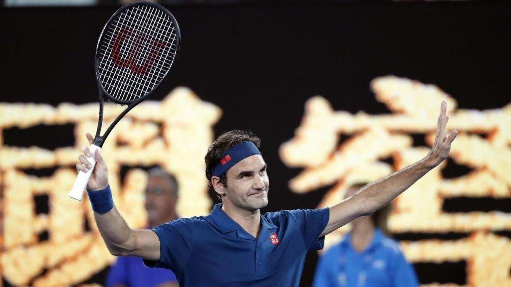 Aktif di Usia 37 Tahun, Ini Tips Sehat Petenis Roger Federer