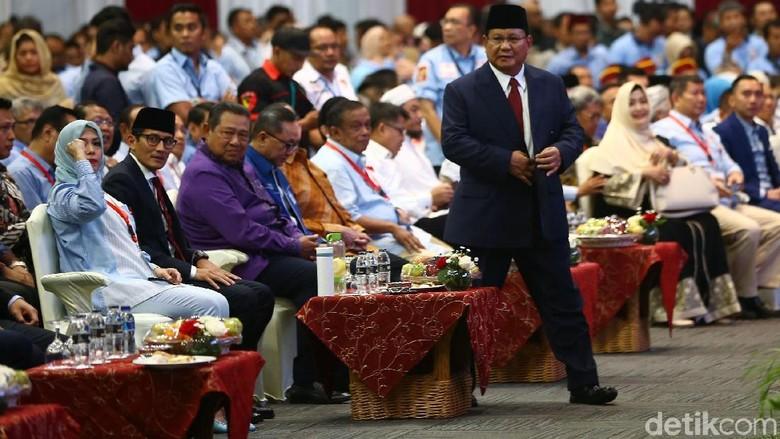 Pidato Indonesia Menang Berakhir, Prabowo Tak Bicara Kemungkinan Mundur