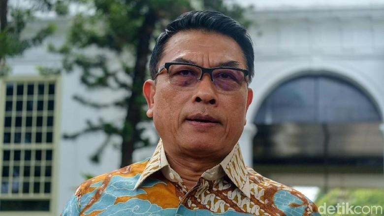 Moeldoko Jelaskan Soal Pendemo Terobos Paspampres untuk Ketemu Jokowi