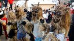 Melihat Karnaval Unik Nan Menyeramkan Ala Warga Makedonia