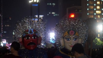 Malam Pergantian Tahun di Jakarta