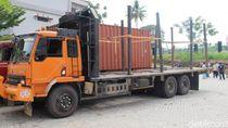 2 Pemilik Truk di Riau Jadi Tersangka karena Modifikasi Angkutannya