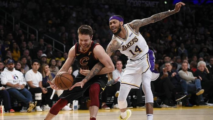 LA Lakers ditumbangkan Cleveland Cavaliers (Kelvin Kuo-USA TODAY Sports)